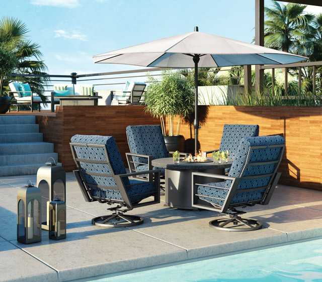 Homecrest Outdoor Living : Outdoor Patio Furniture  Sutton Cushion  Homecrest ...