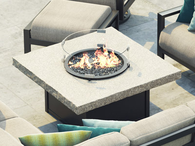 Homecrest Outdoor Living Shadow Rock Fire Tables collection