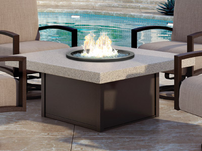 Homecrest Outdoor Living Stonegate Fire Tables collection
