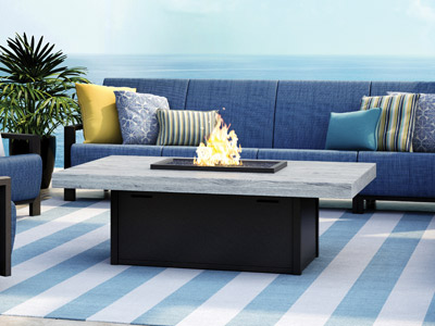 Homecrest Outdoor Living Timber Fire Tables collection