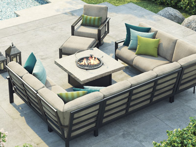 Homecrest Outdoor Living Elements Modular collection