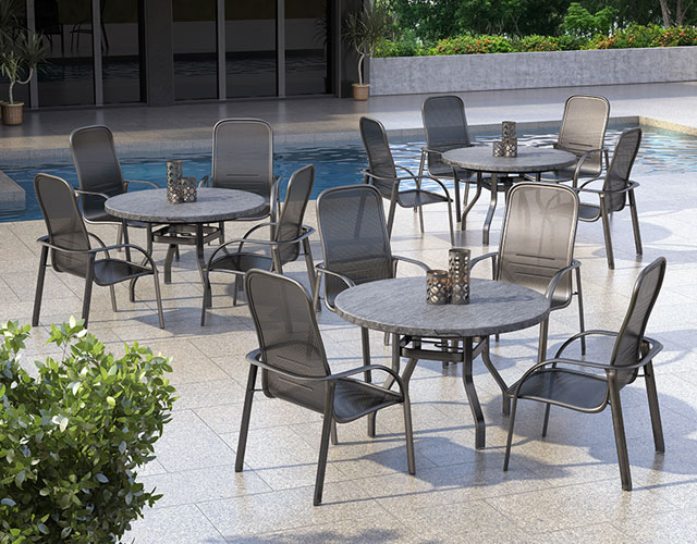 Florida Mesh - Outdoor Patio Furniture Florida Mesh Homecrest Outdoor Living