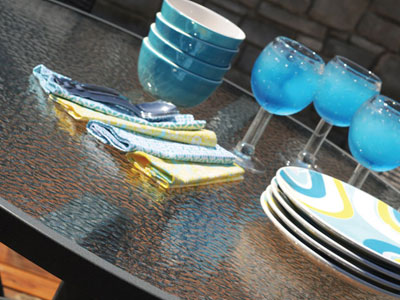 Homecrest Outdoor Living Glass collection