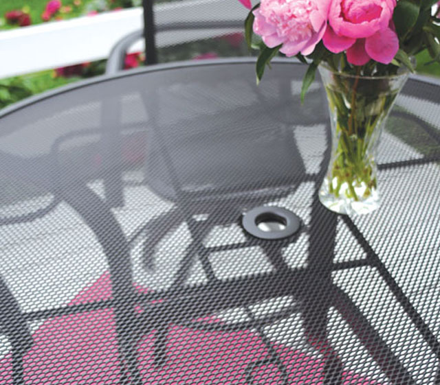 Come To Mind When You Think Of Homecrest S Mesh Tables Available In Café And Bar Heights This Low Maintenance Table Is Ideal For Year Round Enjoyment