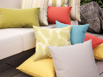 Homecrest Outdoor Living Pillows collection
