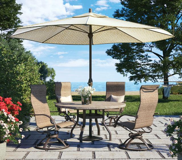 Outdoor Patio Furniture Umbrellas Homecrest Outdoor Living