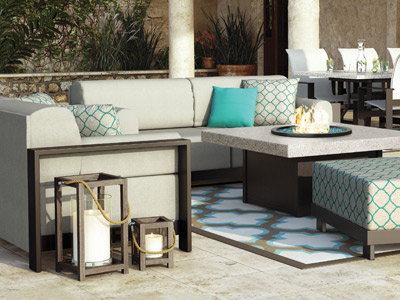 Homecrest Outdoor Living Grace Cushion collection
