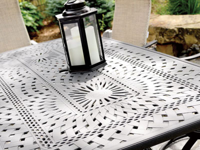 Homecrest Outdoor Living Camden Cast collection