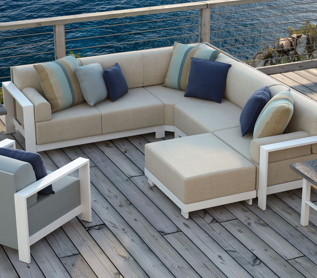 Outdoor Patio Furniture Grace Modular Homecrest Outdoor Living