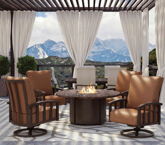 Homecrest Outdoor Living : Outdoor Patio Furniture  Liberty  Homecrest Outdoor Living