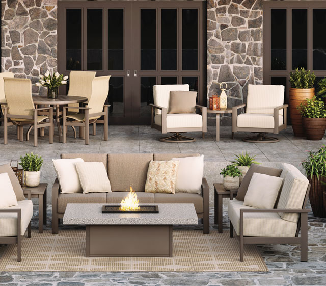 Outdoor Patio Furniture Elements Cushion Homecrest Outdoor Living