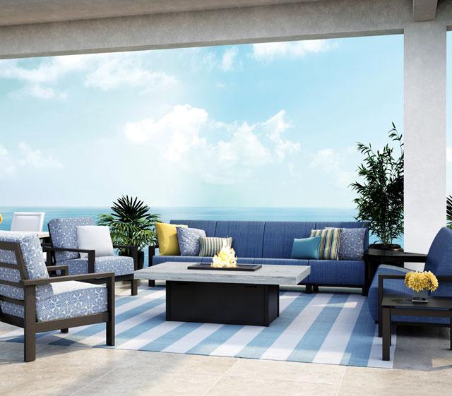 Outdoor patio furniture elements air homecrest outdoor for Homecrest outdoor furniture