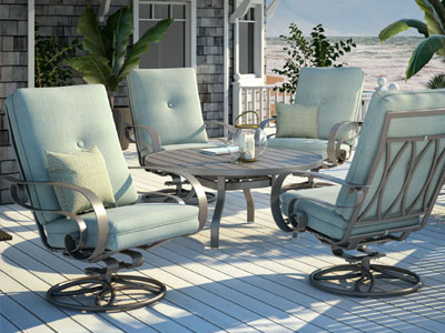 Homecrest Outdoor Living Emory Cushion Collection