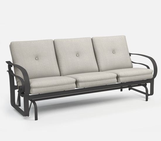 Captivating Low Back Sofa Glider