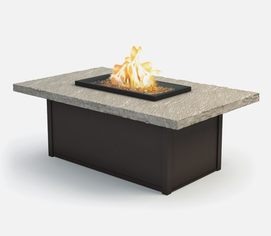 Slate Outdoor Coffee Table: Outdoor Patio Furniture