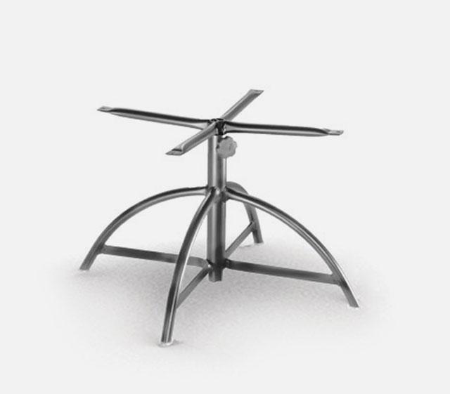Adjustable End Table Base