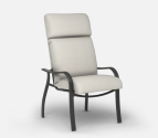 Outdoor Patio Furniture  High Back Dining Chair