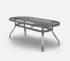 Outdoor Patio Furniture  Large Ellipse, Oval & Rectangular Dining Table Base