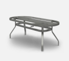 Outdoor Patio Furniture  Small Ellipse, Oval & Rectangular Dining Table Base