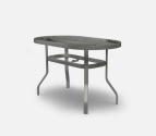Outdoor Patio Furniture  Small Ellipse, Oval & Rectangular Balcony Table Base